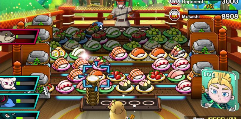 Sushi Striker: Und mit Essen spielt man doch!