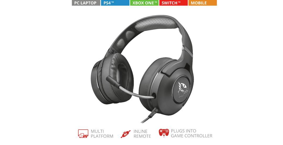 trust gxt 420 gaming headset jetzt gibt s auf die ohren. Black Bedroom Furniture Sets. Home Design Ideas