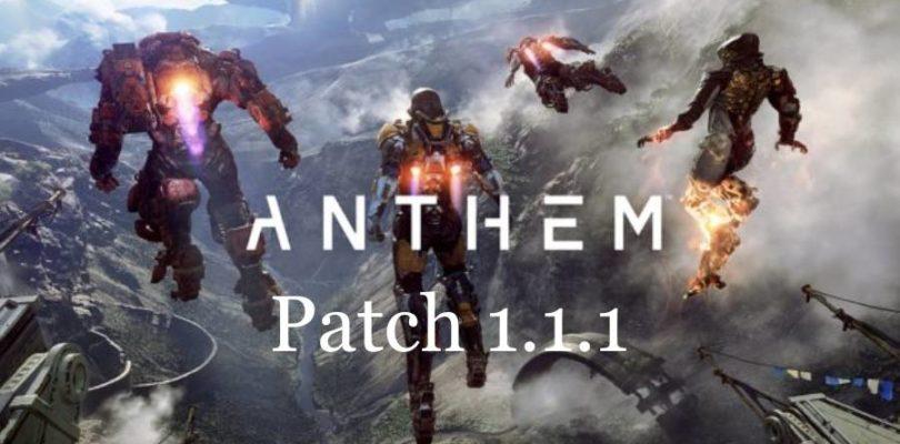 Anthem Patch 1.1.1 … Ist das euer Ernst?