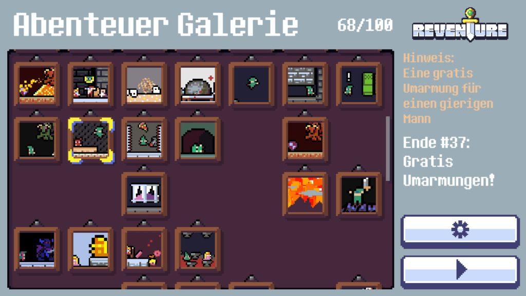 Die Abenteuer Galerie