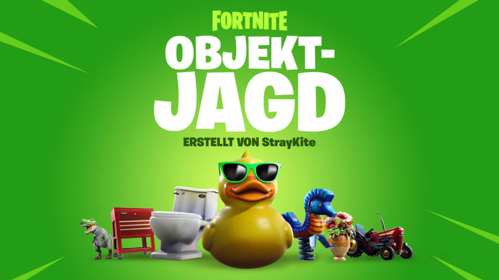Fortnite Objektjagd