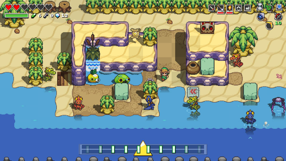 Cadence of Hyrule Screenshot