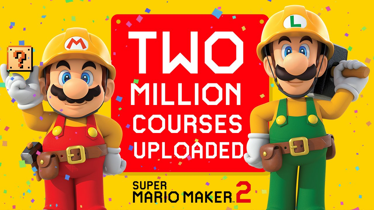 Super Mario Maker 2 Meilenstein