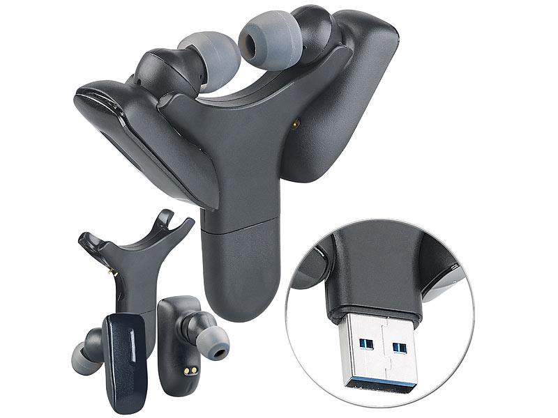 Auvisio IHS-430 True Wireless In-Ear-Headset