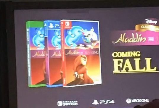 Aladdin Lion King Leak