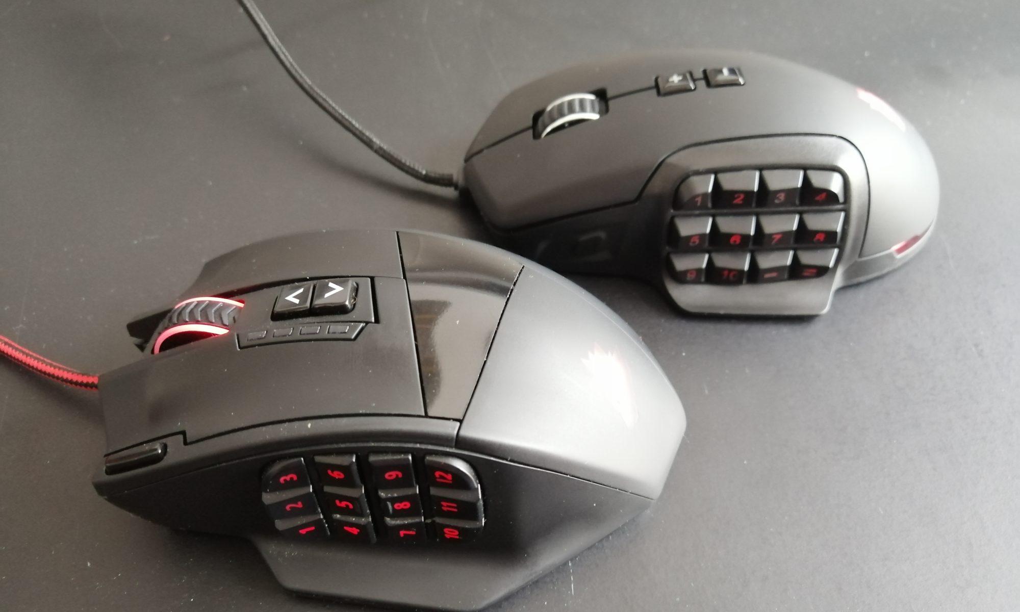 MMO-Mäuse im Vergleich