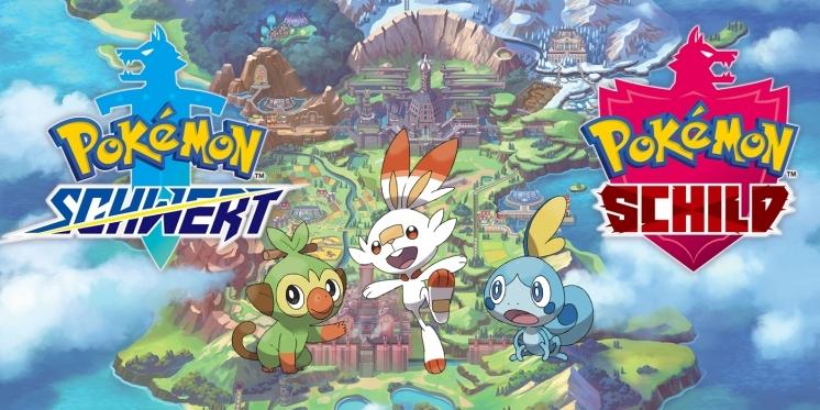 Pokemon Schwert und Schild trailer