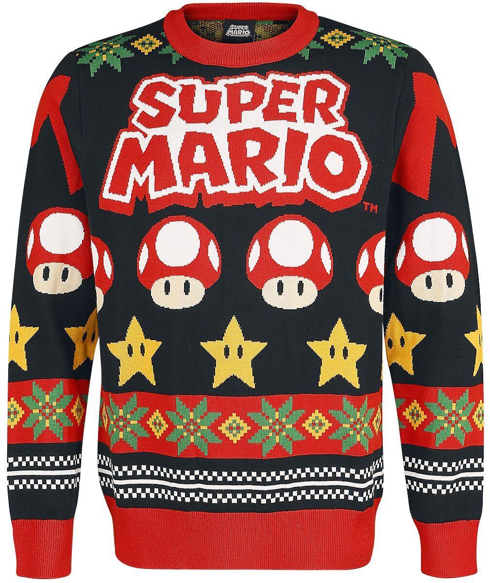 Super Mario Weihnachtspullover