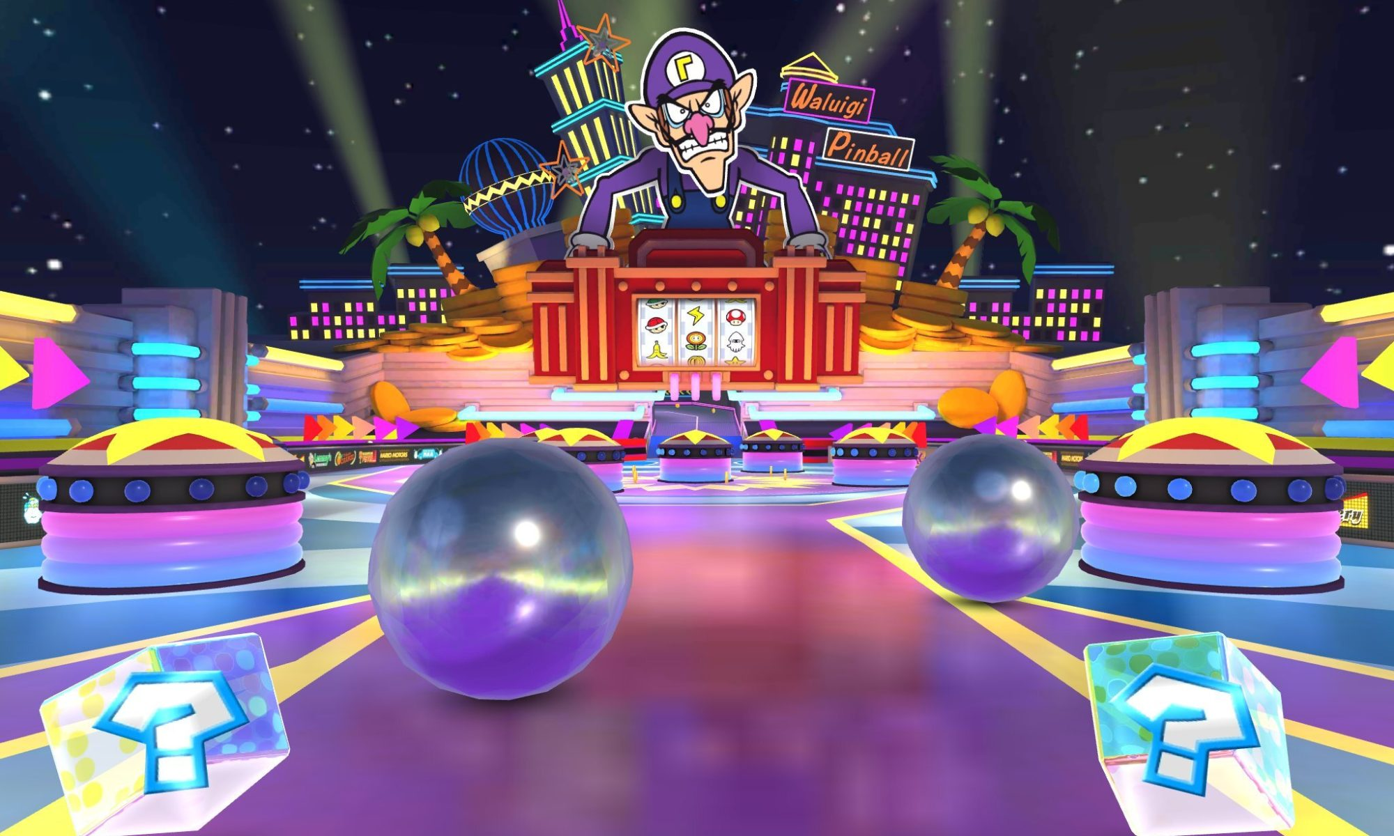 Mario Kart Tour Waluigi