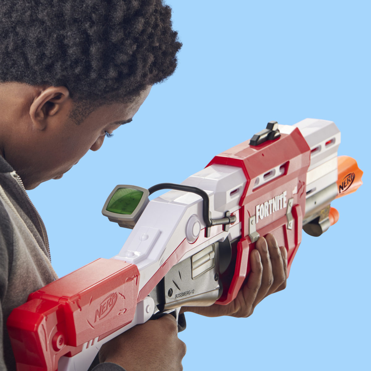 Nerf MEGA Fortnite TS Blaster Lifestyle 3