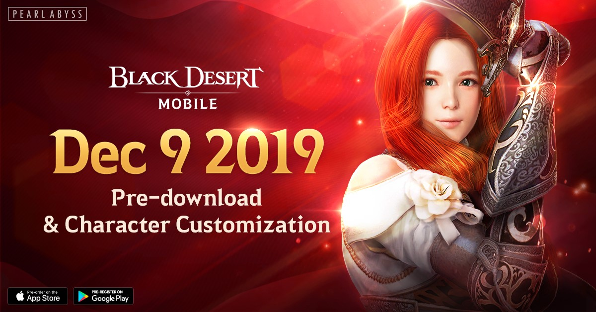 Black Desert Mobile pre download