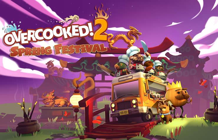 Overcooked! 2 Frühlingsfest