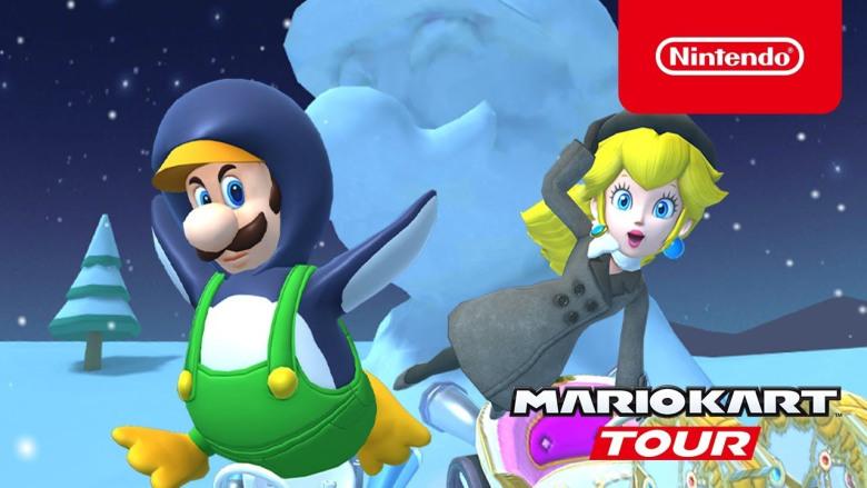 Mario Kart Tour Eiszeit