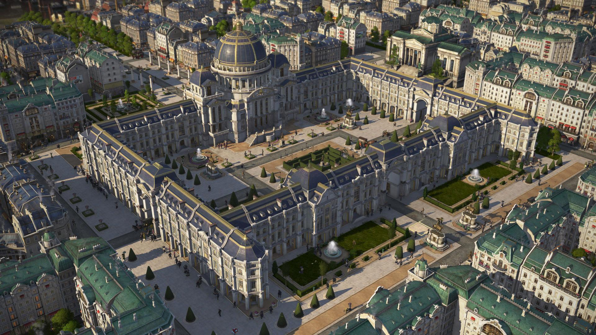 Anno 1800: Paläste der Macht