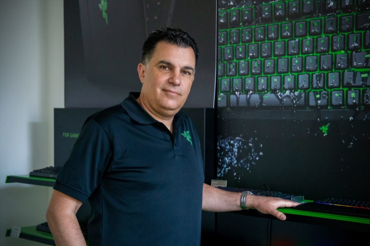 Marco Chillon, General Manager bei Razer Europe
