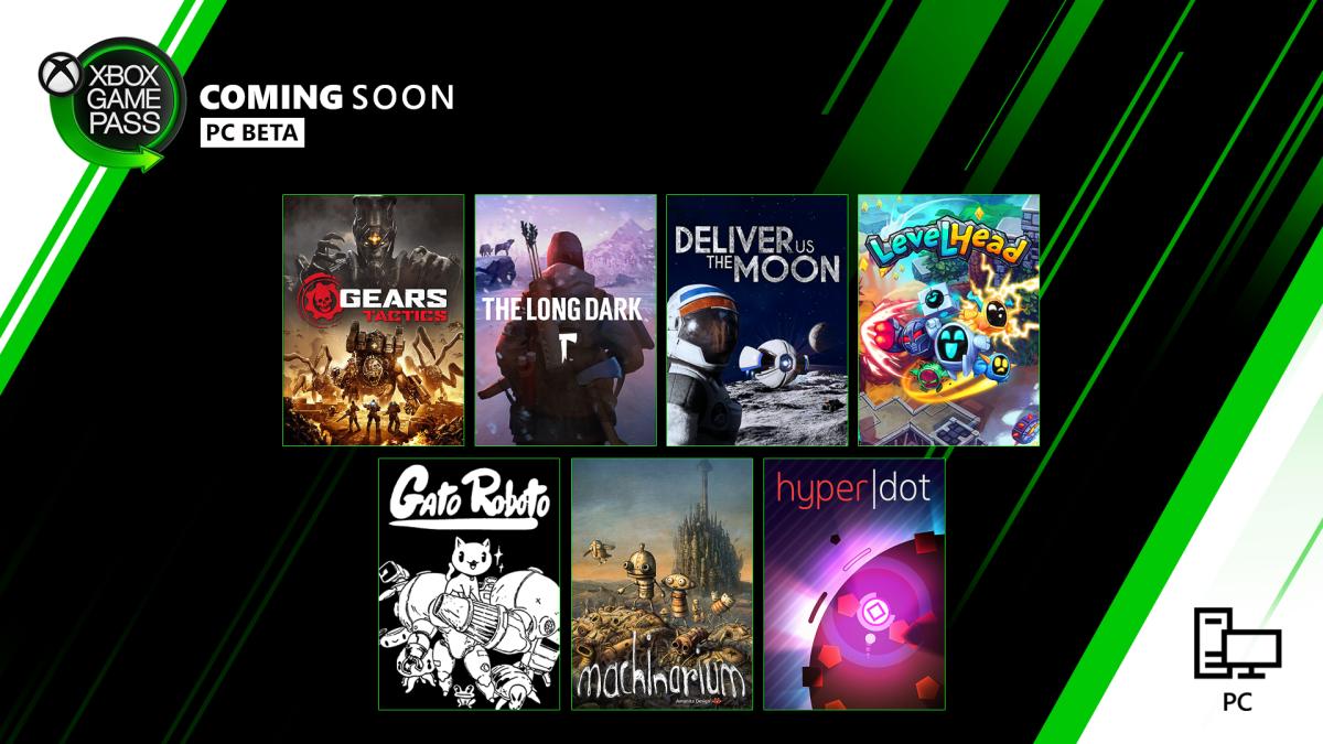 XBox Game Pass April PC
