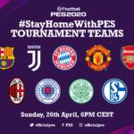 #StayHomeWithPES-Turnier