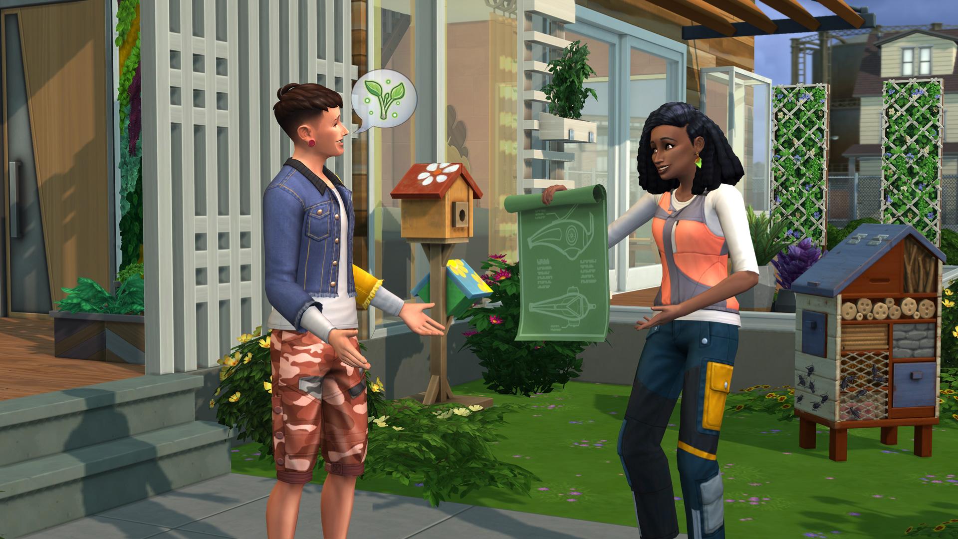 Die Sims 4 Nachhaltig leben