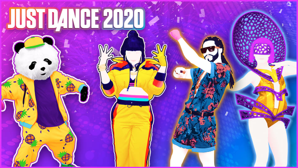 JUST DANCE 2020 virtual paradise