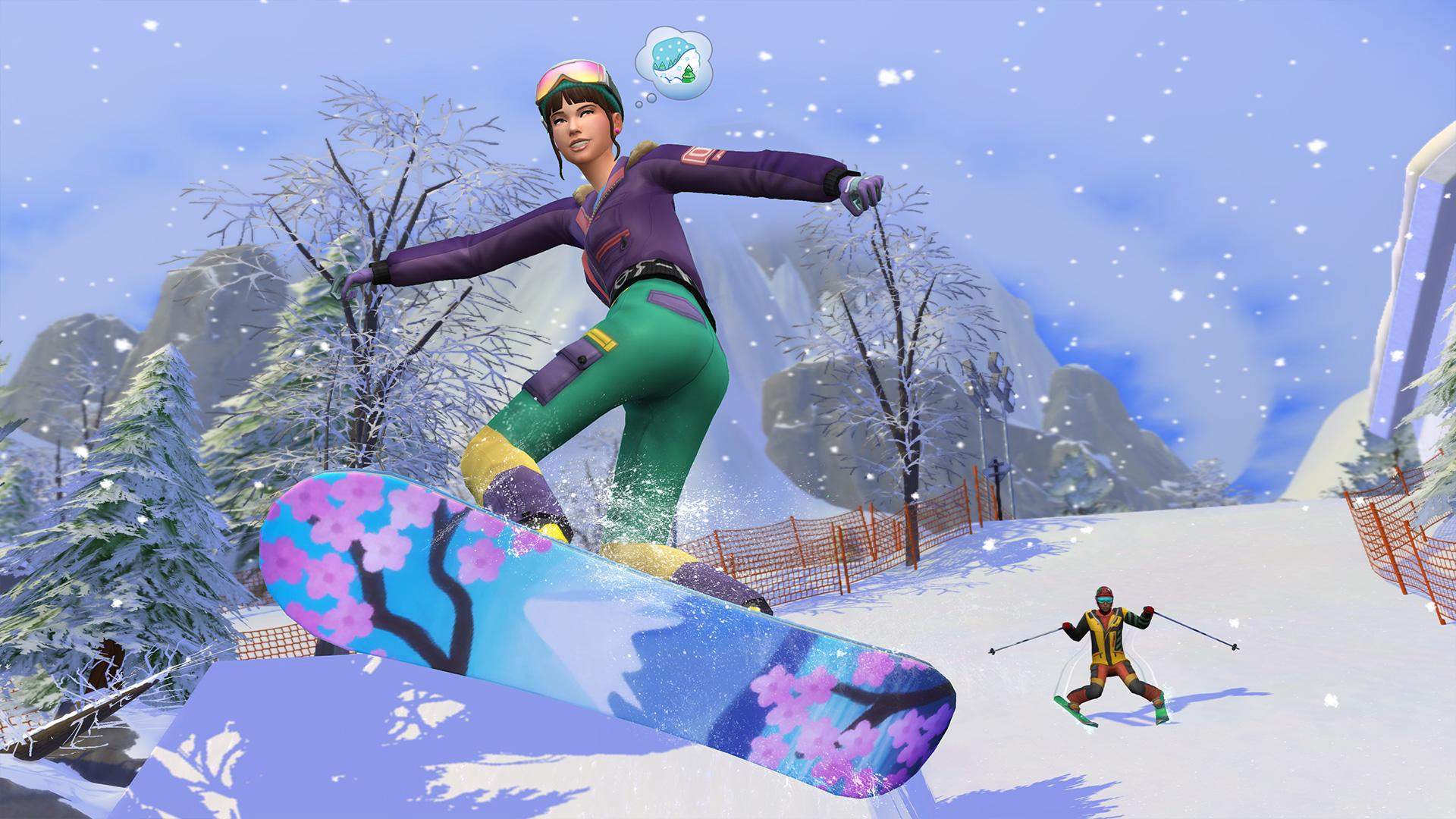 Die Sims 4: Ab ins Schneeparadies