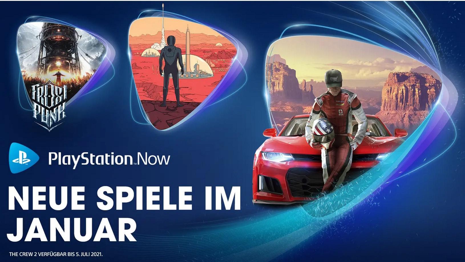 PlayStation Now-Spiele im Januar