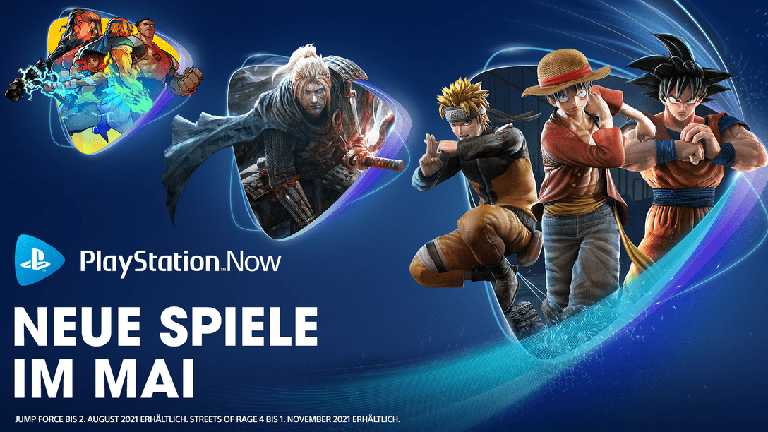PlayStation Now Mai
